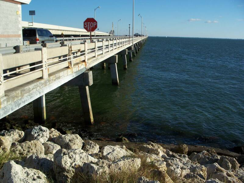 Sunshineskyway for Skyway bridge fishing pier
